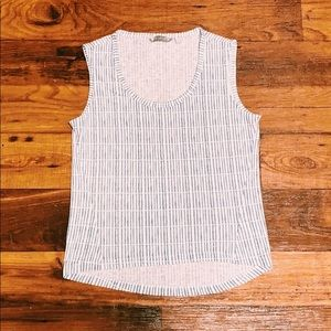 Women's ATHLETA tank top with gray details